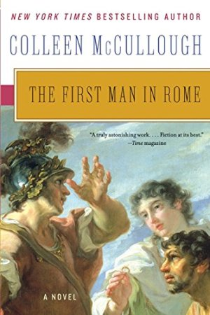 The First Man In Rome Book Cover