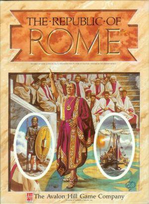 The Republic of Rome Cover