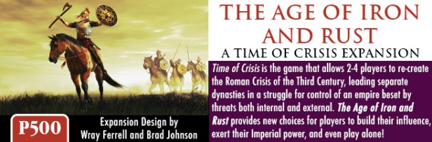 Time of Crisis The Age of Iron and Rust Banner