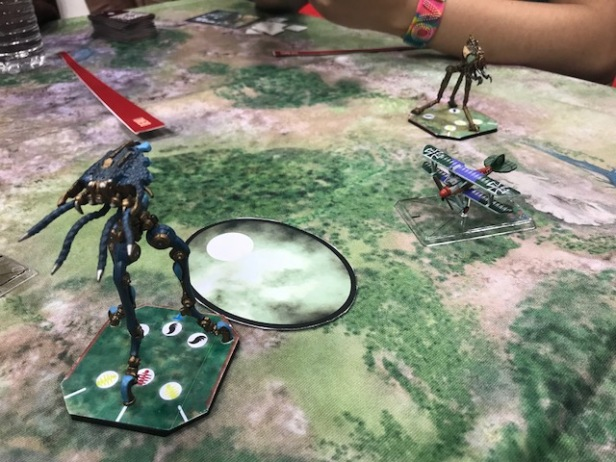Gen Con 2018 Tripods and Triplanes from Ares Games