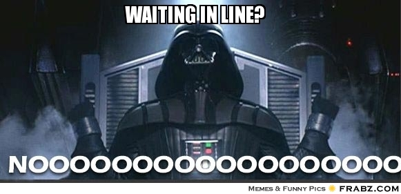Gen Con Waiting in Line Meme