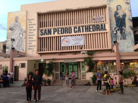 People Power San Pedro Cathedral