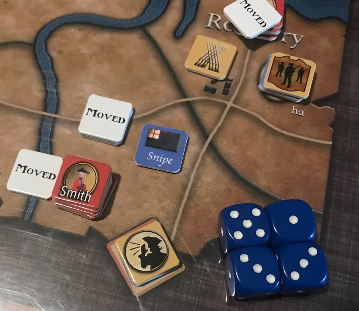 Revolution Road From Boston To Concord Compass Games Action Electrical Wiring Point 3 The Players Aid