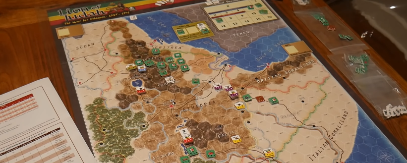 Video Review: Lion of Judah: The War for Ethiopia, 1935-1941 from Compass Games – The Players' Aid image