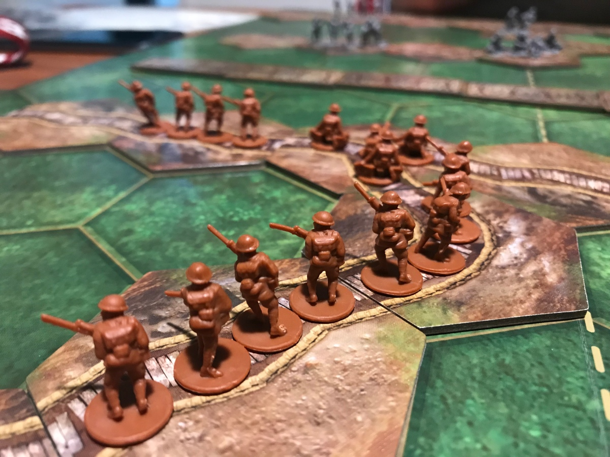 The Great War (Centenary Edition) from PSC Games – Action Point 1 – The Players' Aid image