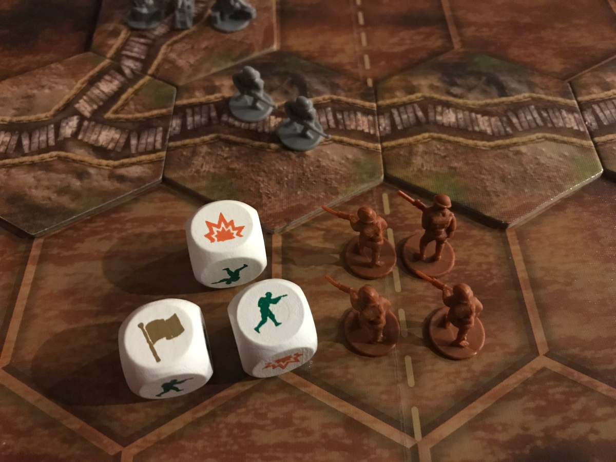 The Great War (Centenary Edition) from PSC Games – Action Point 3 – The Players' Aid image