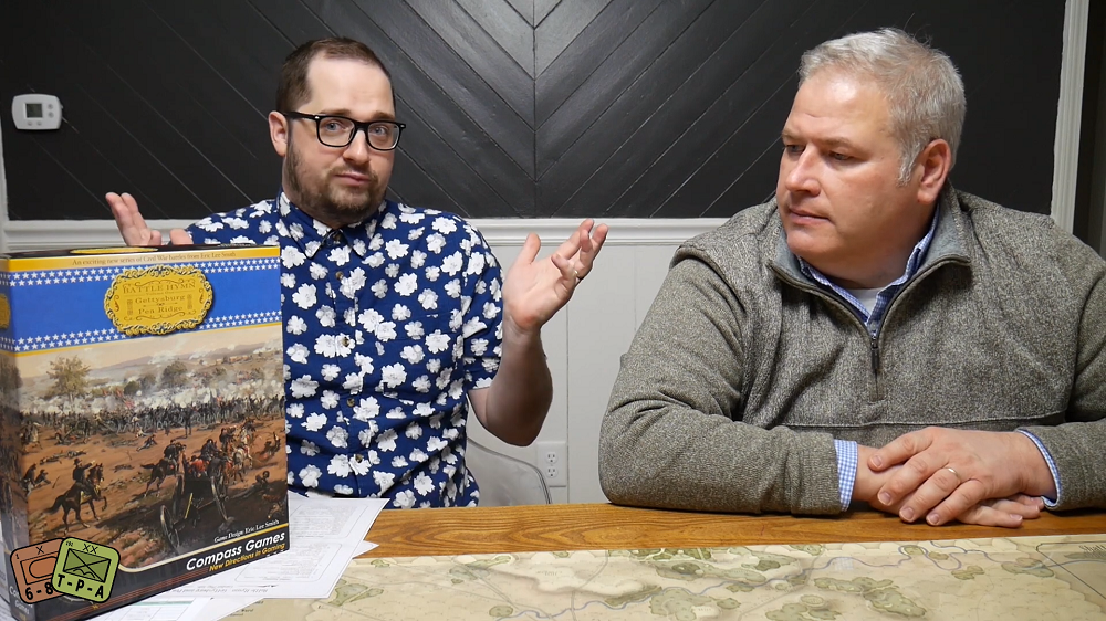 Video Review: Battle Hymn Vol. 1 Gettysburg & Pea Ridge from Compass Games image