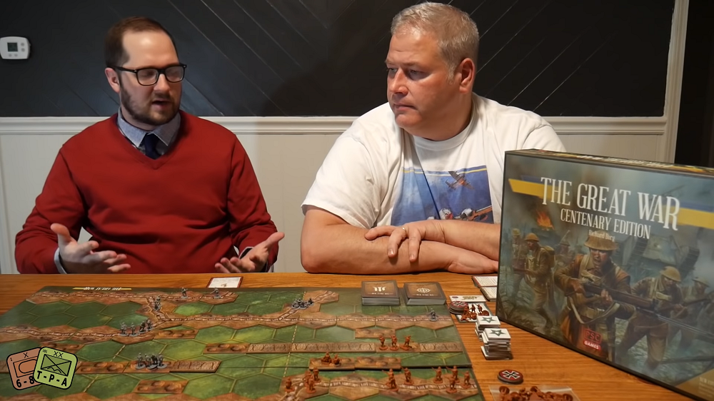 Review and Unboxing: The Great War – Centenary Edition from PSC Games image