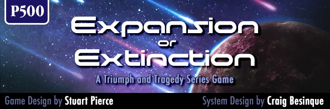 Interview with Stuart Pierce Designer of Expansion or Extinction: A Triumph & Tragedy Series Game from GMT Games image
