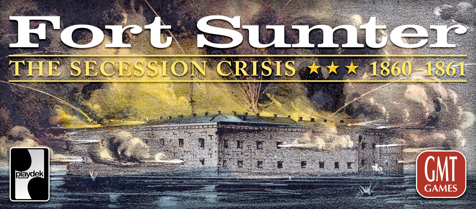 Playdek Announces the Digital Release of Fort Sumter: The Secession Crisis, 1860-61 from GMT Games