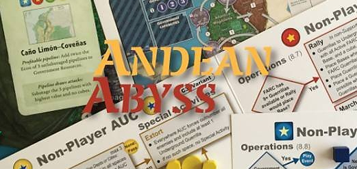 Video Review: Andean Abyss: Insurgency and Counter Insurgency in Colombia from GMT Games