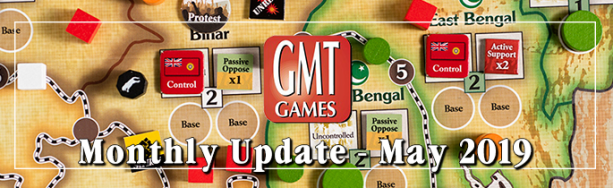 May Monthly Update GMT Games