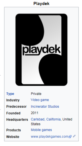 The Games Private Industry Plays With >> Interview With Gary Weis Chief Technology Officer With Playdek The
