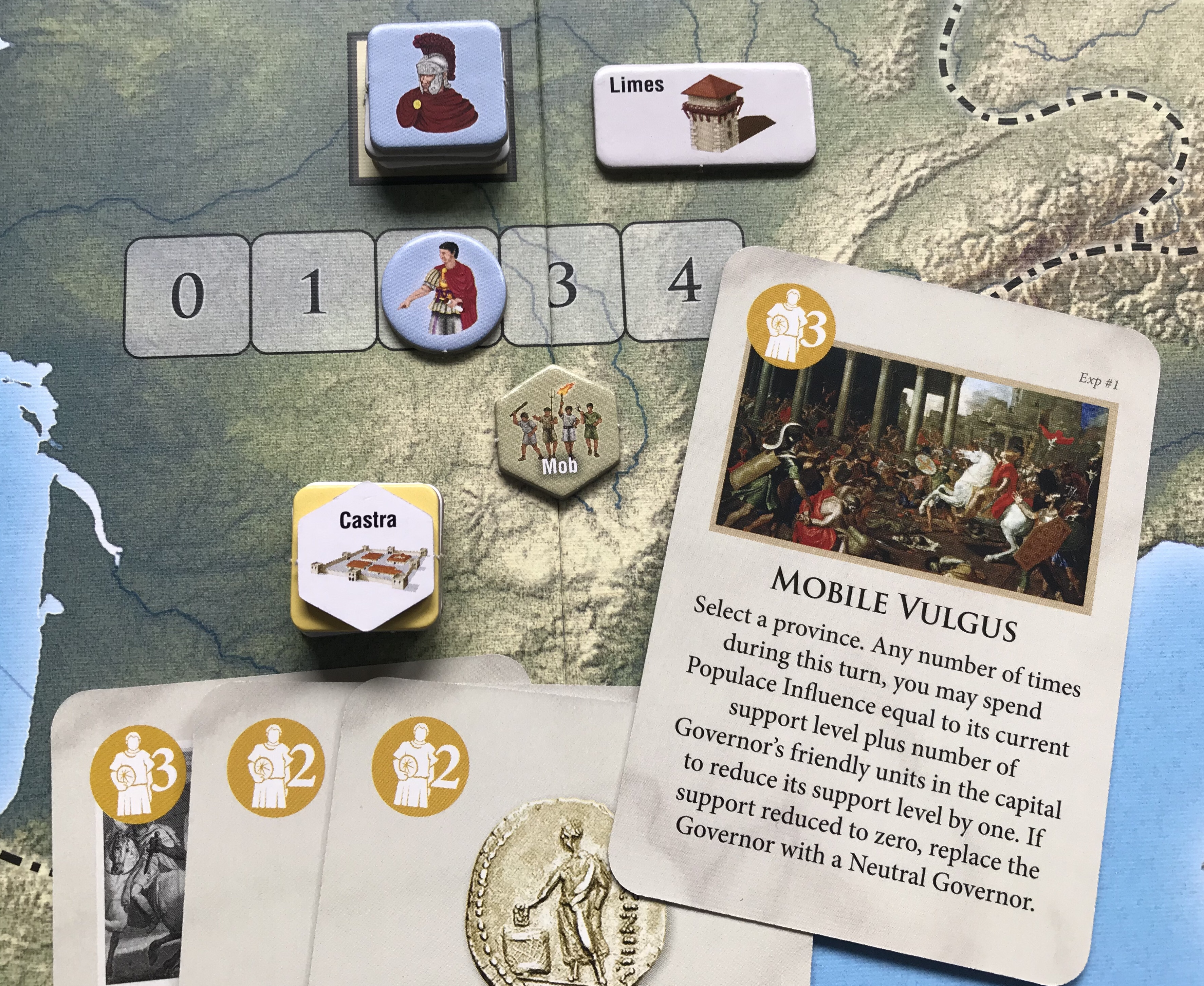 The Age of Iron and Rust Expansion Time of Crisis English New by GMT