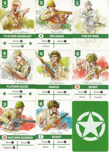 Undaunted Card Examples II