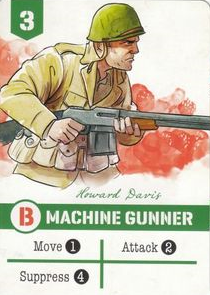 Undaunted Machine Gunner
