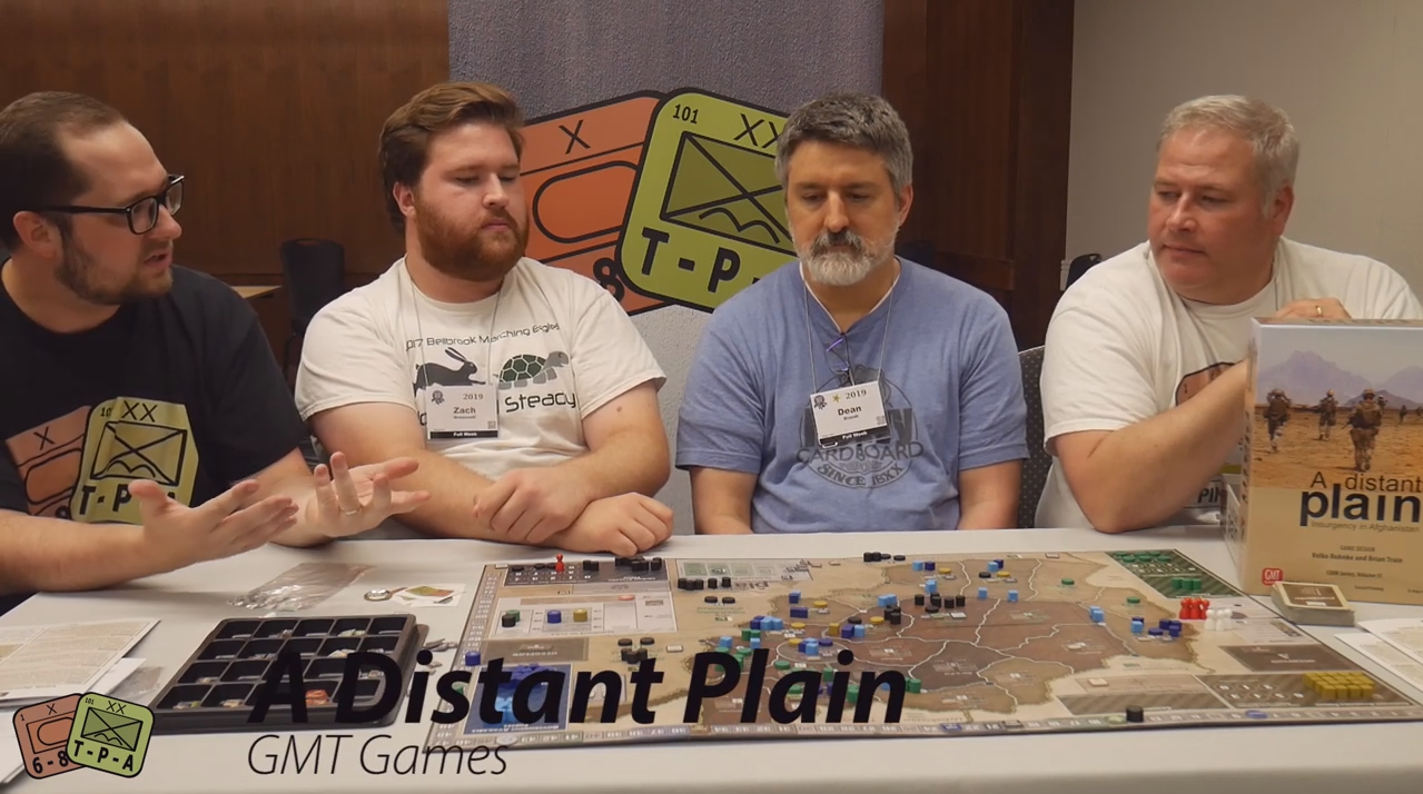 Video Review: A Distant Plain: Insurgency in Afghanistan from GMT Games