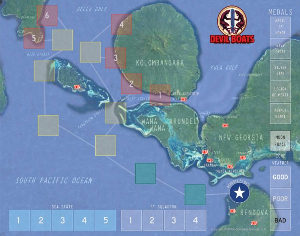 Devil Boats Map
