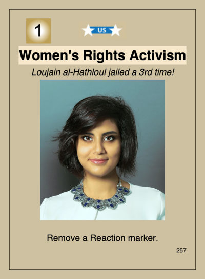 Labyrinth III Event Card Women's Rights Activism