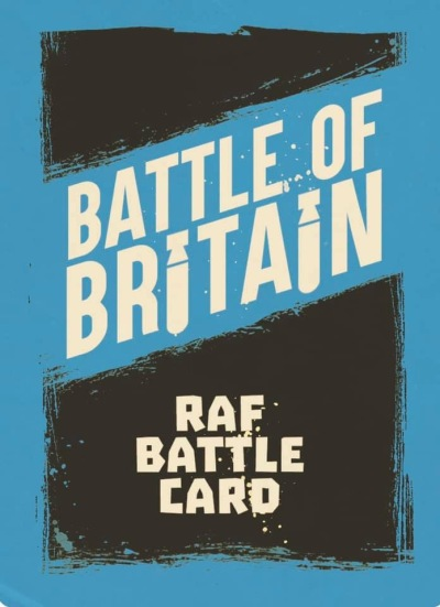 Battle of Britain RAF Battle Card