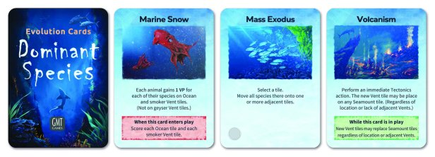 Dominant Species Marine Cards