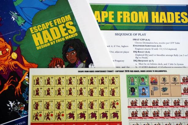 Escape from Hades Components