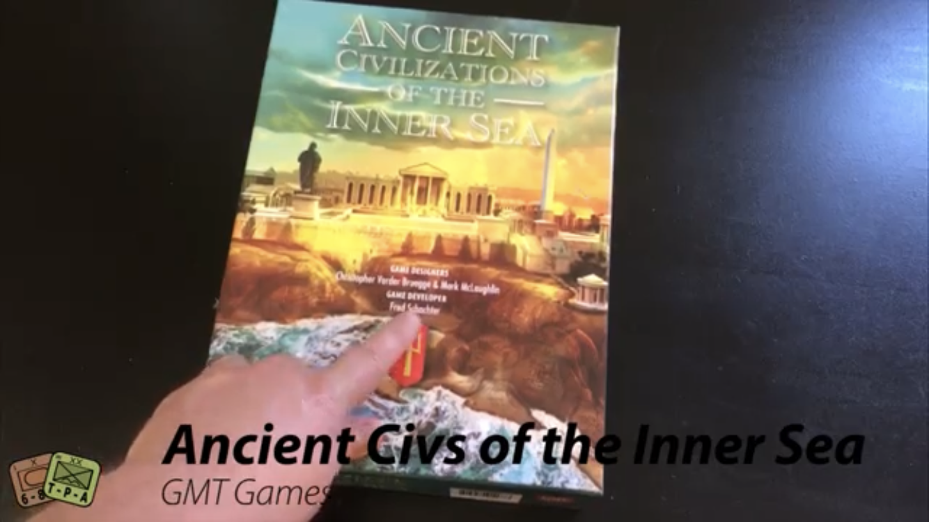 Unboxing: Ancient Civilizations of the Inner Sea from GMT Games