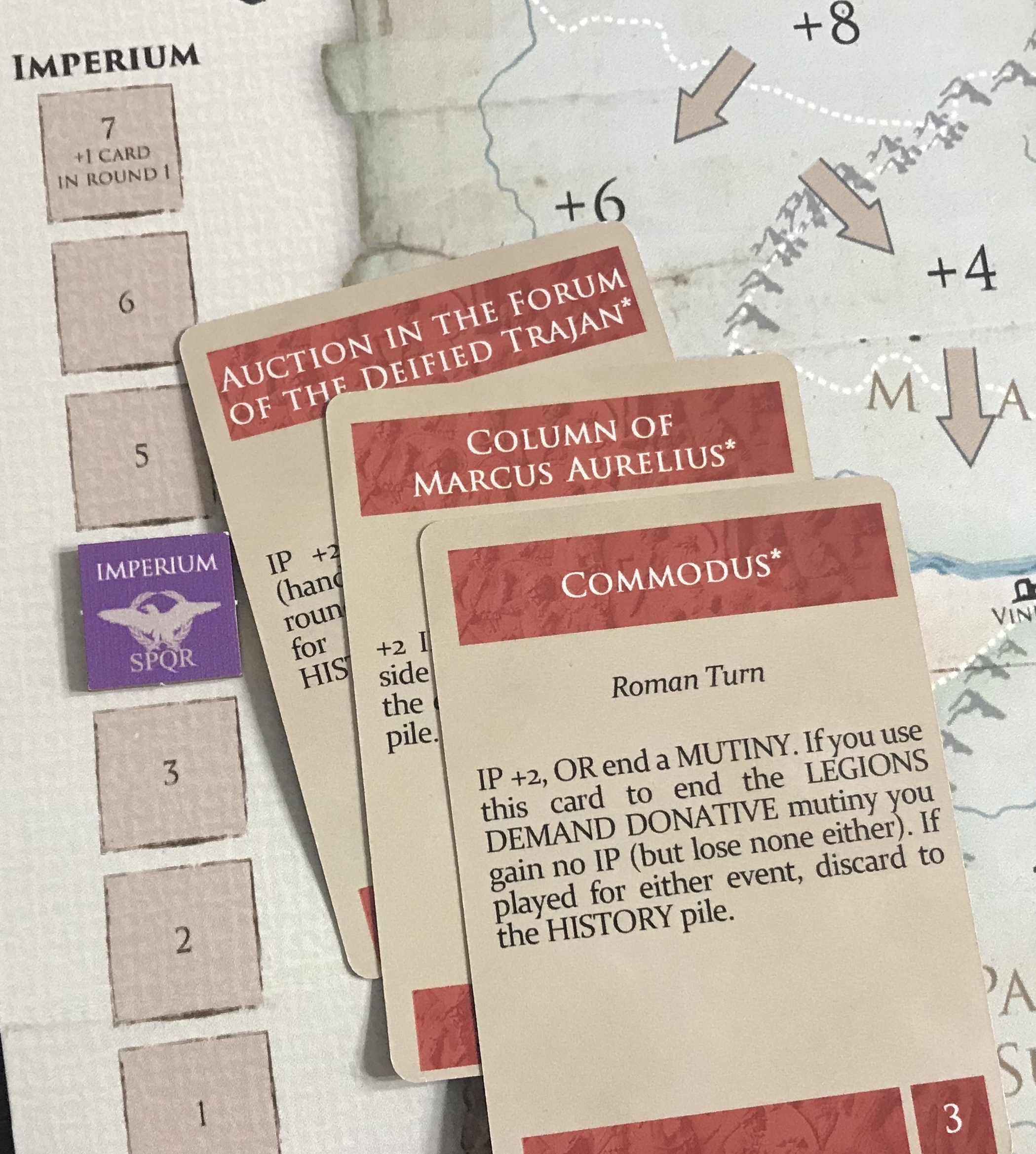The Wars of Marcus Aurelius: Rome 170-180CE from Hollandspiele – Action Point 5