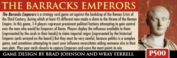 The Barracks Emperors Banner 2