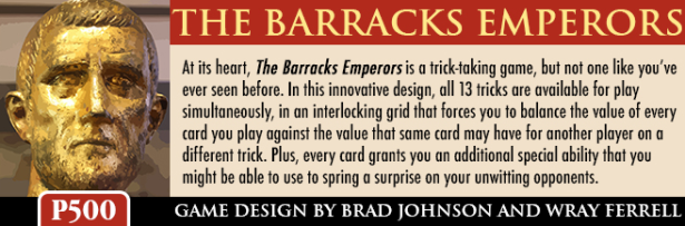 The Barracks Emperors Banner 3