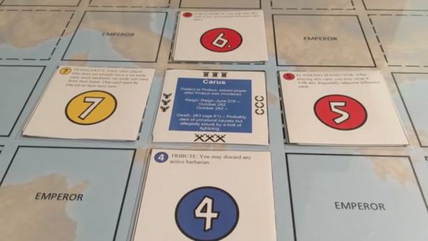 The Barracks Emperors Cards Played 1