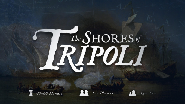 The Shores of Tripoli New Cover