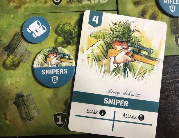 Undaunted Normandy Sniper Card