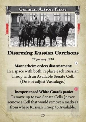 All Bridges Burning Disarming Russian Garrisons