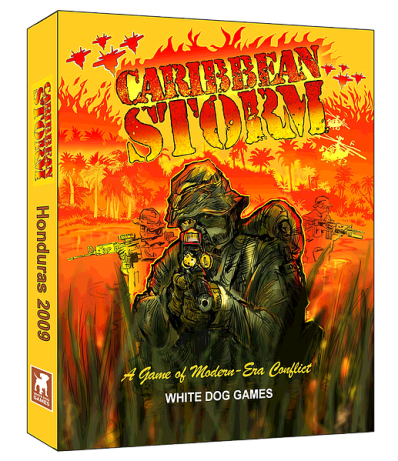 Caribbean Storm Cover