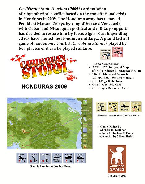 Caribbean Storm Info Sheet
