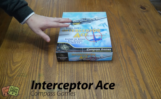 Unboxing: Interceptor Ace: Daylight Air Defense Over Germany, 1943-44 from Compass Games