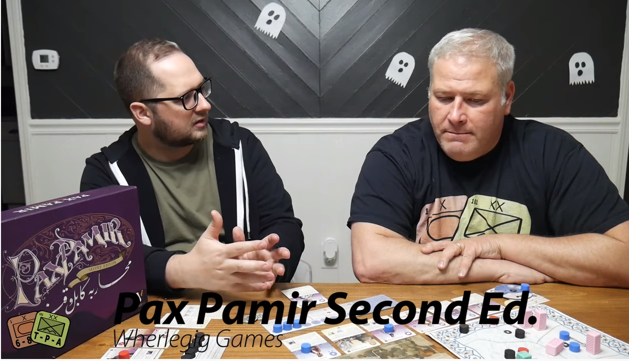 Video Review: Pax Pamir Second Edition from Wherlegig Games
