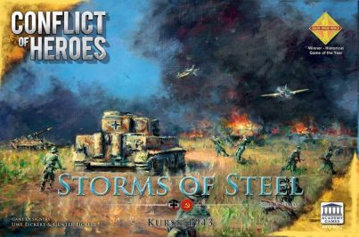 Storms of Steel Kursk 3rd Edition Cover