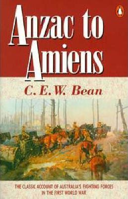 Anzac to Amiens Book Cover