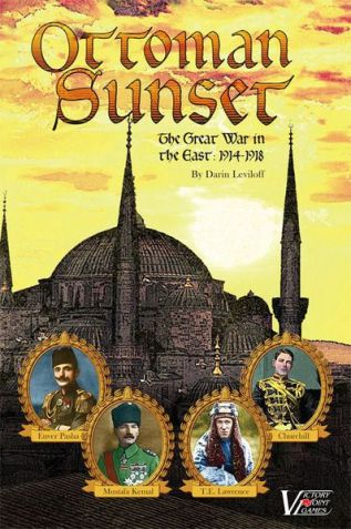 Ottoman Sunset Cover