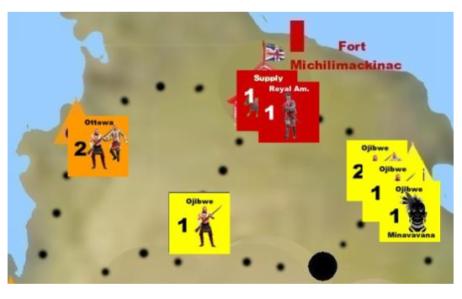 Pontiac's Uprising Fall of Michilimackinac