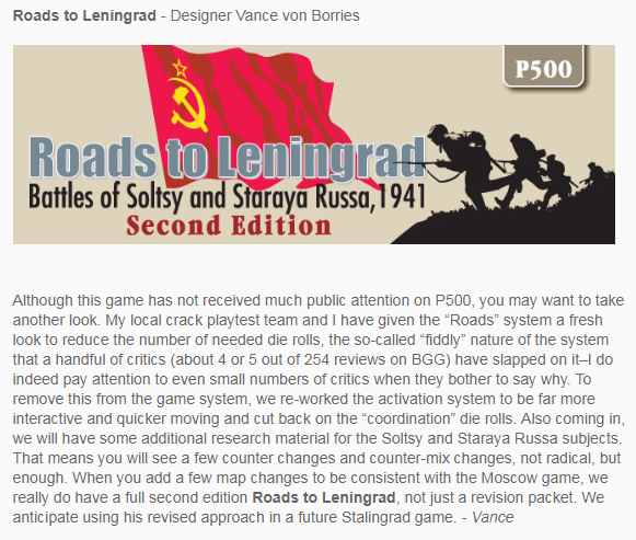Roads to Leningrad