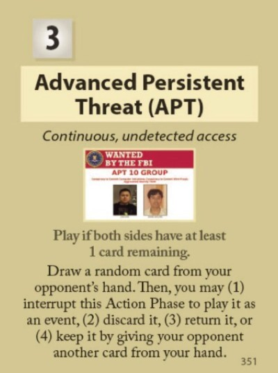 The Forever War APT Card