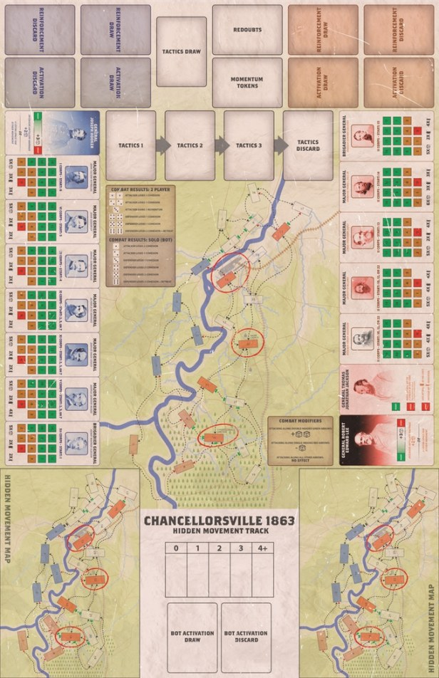 Chancellorsville 1863 Map