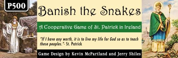 Banish the Snakes Banner 1