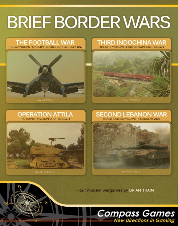 Brief Border Wars Cover