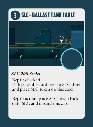 By Stealth and Sea Ballast Tank Fault Card