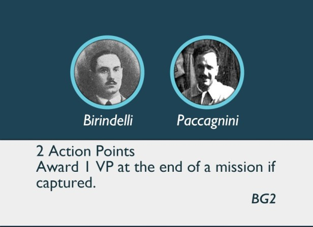 By Stealth and Sea Operator Cards - Birindelli and Paccagnini