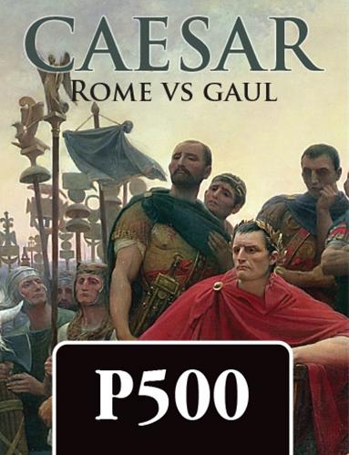 Caesar Rome vs Gaul Cover Image